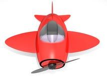Het vliegtuig van het stuk speelgoed Stock Fotografie