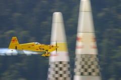 Het vliegtuig van kunstvliegen het rennen Royalty-vrije Stock Fotografie