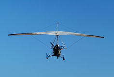 Het vliegtuig van Microlight stock fotografie