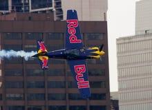 Het Vliegtuig van Red Bull Royalty-vrije Stock Afbeelding
