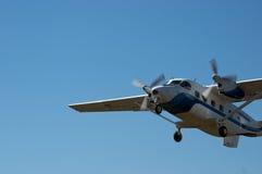 Het vliegtuig van Skydiver Royalty-vrije Stock Afbeelding