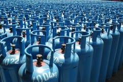 Het vloeibare Gas van de Aardolie royalty-vrije stock afbeelding