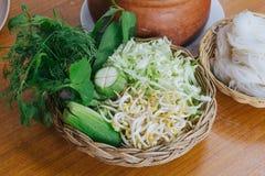 Het voedsel van Azië Stock Foto's