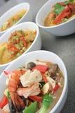 Het voedsel van Azië Stock Afbeeldingen
