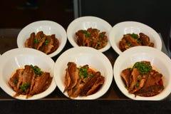 Het voedsel van China (gebraden vissen) Stock Afbeeldingen