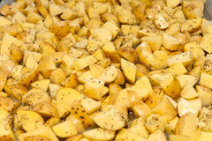 Het voedsel van de aardappel Stock Fotografie