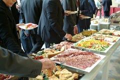 Het voedsel van de catering stock fotografie
