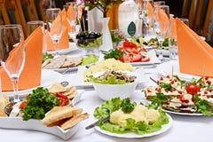 Het voedsel van de catering Stock Foto's