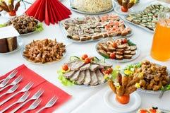 Het voedsel van de catering royalty-vrije stock foto's