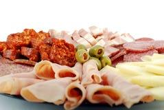 Het voedsel van de catering sluit detail Stock Afbeeldingen