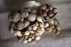 Het voedsel van de cholesterolpreventie royalty-vrije stock foto's