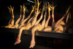 Het voedsel van de kippenstraat Royalty-vrije Stock Afbeeldingen