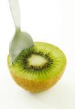 Het voedsel van de kiwi Stock Foto's