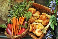 Het Voedsel van de markt Royalty-vrije Stock Afbeelding