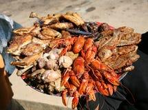 Het voedsel van de Mixteplaat Royalty-vrije Stock Foto