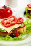 Het voedsel van de ochtend Royalty-vrije Stock Afbeeldingen