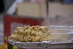 Het voedsel van de Odengstraat Stock Fotografie