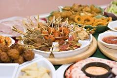Het voedsel van de partij Royalty-vrije Stock Afbeeldingen