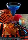 Het Voedsel van de Partij van het nieuwjaar Stock Foto's
