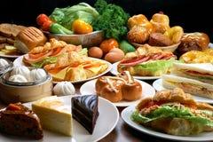 Het voedsel van de snack stock afbeelding