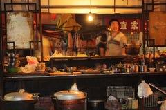 Het voedsel van de straat in China royalty-vrije stock foto's