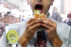 Het Voedsel van de straatmarkt Stock Afbeelding