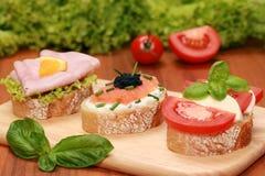 Het voedsel van de vinger Royalty-vrije Stock Foto
