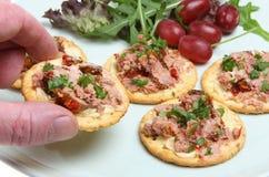 Het Voedsel van de vinger Stock Foto