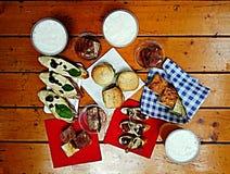 Het voedsel van de vinger Royalty-vrije Stock Foto's