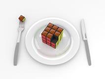Het voedsel van hersenen Royalty-vrije Stock Afbeeldingen