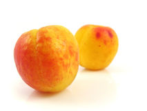 Het voedsel van het de perzikfruit van de abrikoos royalty-vrije stock foto