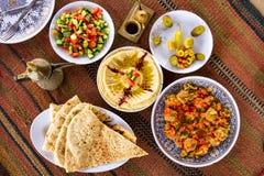 Het voedsel van het Middenoosten Stock Afbeeldingen