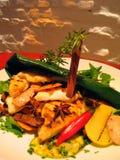 Het voedsel van het restaurant Royalty-vrije Stock Foto's