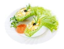 Het voedsel van het voorgerecht, salade stock afbeelding