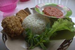 Het Voedsel van Indonesië Stock Foto's