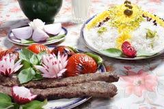 Het voedsel van Iran Royalty-vrije Stock Afbeeldingen