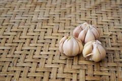 Het voedsel van knoflookingrediënten Stock Foto