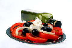 Het voedsel van Meditteranean Royalty-vrije Stock Fotografie