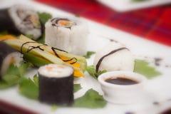 Het voedsel van sushi Stock Foto's