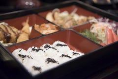 het voedsel van sushijapan Stock Foto