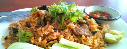 het voedsel van Thailand Royalty-vrije Stock Fotografie