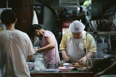 Het voedsel van UAN PochanaStreet van het Kuaikloofje in Yaowarat royalty-vrije stock fotografie