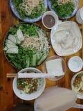 Het Voedsel van Vietnam Royalty-vrije Stock Afbeeldingen