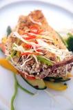 Het voedsel van vissen Stock Foto's