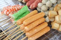 Het voedsel van vleespennen Royalty-vrije Stock Foto's