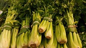 Het voedsel wordt gebundeld of in verse banaanbladeren verpakt stock foto