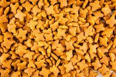 Het voedselachtergrond van de kat Royalty-vrije Stock Afbeelding