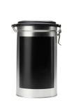 Het voedselcontainer van het ijzer met dekking Stock Fotografie