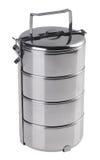 Het voedselcontainer van het roestvrij staal Royalty-vrije Stock Fotografie