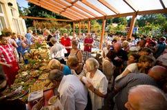 Het voedselfestival van het de zomerhotel Royalty-vrije Stock Afbeelding